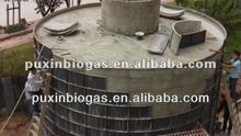 Excellent PUXIN medium and large size biogas system