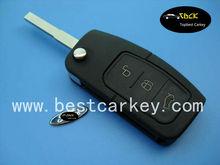 auto key for Ford Focus car remote flip key 433mhz