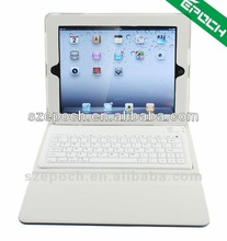 Leather Case with bluetooth keyboard for Apple iPad 2/ iPad 3