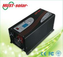 <MUST Solar>25% 50% 75% 100% adjustable battery charge current inverter back up solar power inverter