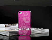 Beautiful metal mobilephone cover for iphone 4S 4G