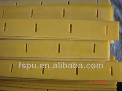 polyurethane pu scraper & scraping fender wear resistant