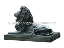 carving copper of lion