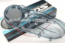 3D transparente / humo de la cubierta del motor para YAMAHA BW'S X / Zuma / nueva Cygnus de piezas de repuesto