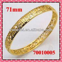 2012 European designer 18K gold plated fashionable bracelet