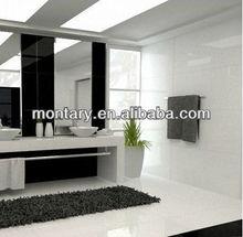 2012 popular advanced pure white ceramic tile flooring