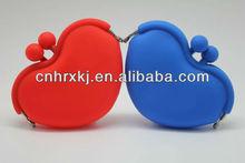Colorful KISSLOCK Silicone Coin Purse