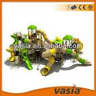 Children plastic jungle gym outdoor playground(VS1-101222-15-01)