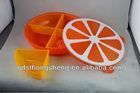 orange shape candy box