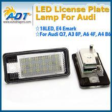 LED license plate light for AUDI Q7 TDI A3 A4 A6