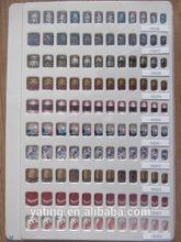 Professional salon Pre-design Full Acrylic nail art tips/ False nail art Tips 24pcs AA