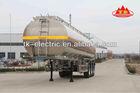 Aluminum Fuel Tanker trailer 45cbm ( 45000L ) (Cylindrical-Type Tank)