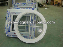 PVC fixed round window for house