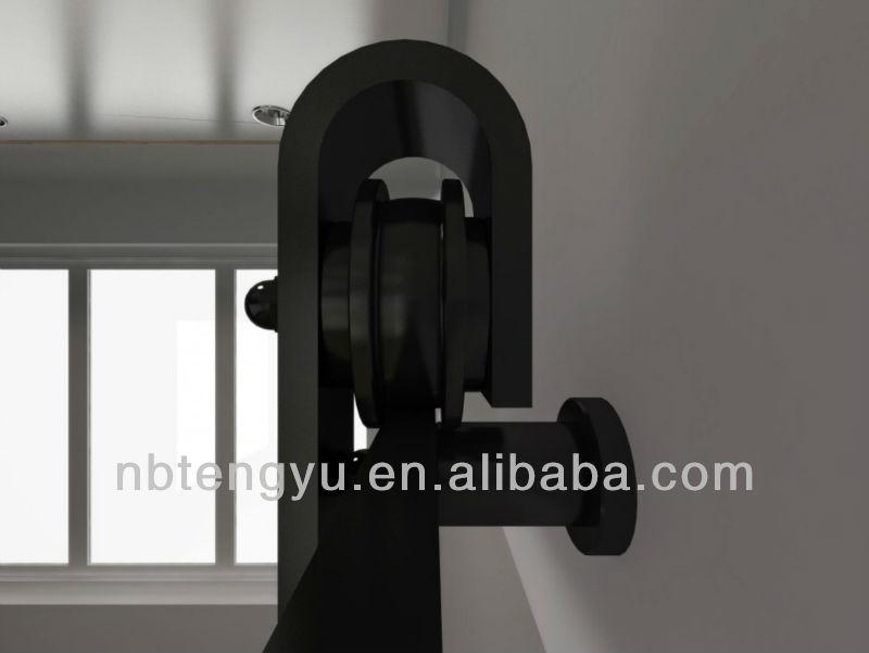 Galet de roulement plastique pour porte coulissante et rail