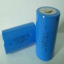 ER34615 3.6v 19Ah primary & dry d cell lithium battery manufacturer(lisoci2)