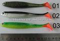 borracha pesca swimbait iscas de plástico macio sl09