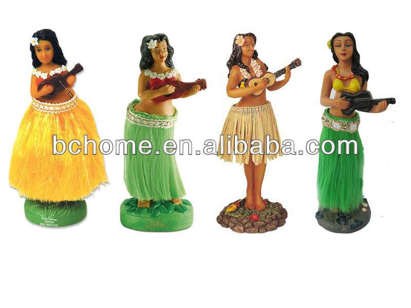 Fille Hula Hawaienne Dansante Tableau De Bord Voiture