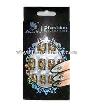 New Design Nail Tips/ABS Fashion Nail Tips/Atificial Art Nails Color Nail Art Severa Designs Low MOQ OEM is OK