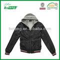 el hombre de moda de invierno abrigo chaqueta de cuero