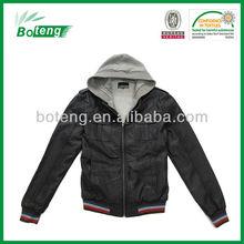 man fashion winter leather jacket coat