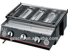 Spraying Glass BBQ Grill 3 burbers (SC-J333B)