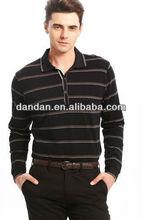 2013 fashion popular men's polo shirt,long sleeve polo t shirt