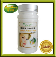 Collagen from pig skin skin supplement