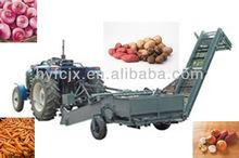 Carrot Garlic Potato Harvesting Machine/Harvester potato digger/double-rows 2-row potato harvester