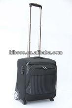 Black Classial Laptop trolley bag