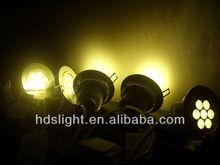 Epistar 12v led downlight 80mm warm white 12Volt 9watt hot sale China Downlight