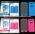 Samsung Galaxy S3 screen protector, printing screen guard, front & back side