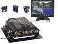 Dvr móvil sistema/de corte - borde móvil de vigilancia de vídeo grabadora para vehículos