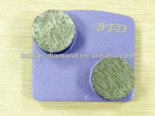 H Slide Connection Metal Bond Grinding Plates