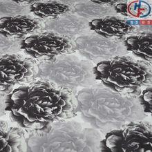 colourful rose pattern for sofa pillow&cushion,super soft velboa