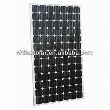 Framed design 18V 130w photovoltaic solar panel