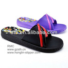 RMC Printed Flat EVA Slide strap Pool Slipper