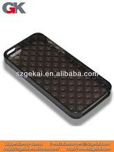 geometric design rhombus rubber skin case for iphone5S