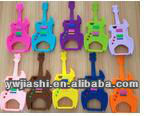Guitar Silicone Cellphone Cover,mobile phone silicone skin case