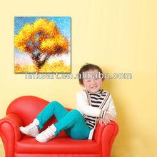 2013 custom scenery photo canvas printing
