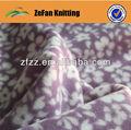 impreso polar fleece fabircs para prendas de vestir