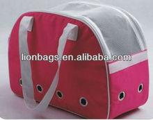 (LNPG15) eco-frienly pink pet carrier bag