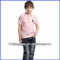 2013 newest fashion cotton printed comfortable t shirt children