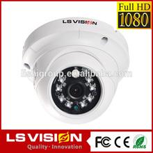 LS VISION 1080p vandal proof indoor cheap megapixel dome ip poe camera