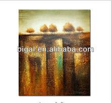 high gloss oil painting in modern art for interior decor