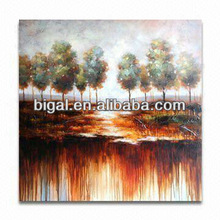 handpainted landscape high gloss oil painting with drop shipping