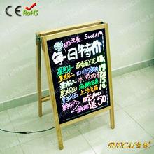 2013 New Products LED Menu Board LED Ads Board A Board