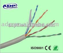 4*2*0.52mm bare copper cat5e utp LAN/network cable