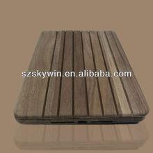 bamboo and wood case hard back cover for ipad mini