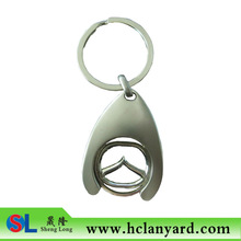 detachable customized coin holder key chain