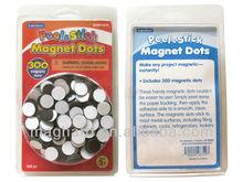 Blister PET package Peel sticker magnet dots